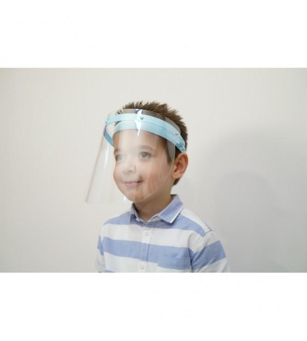 Çocuk Tipi Yüz Koruyucu Siperlik